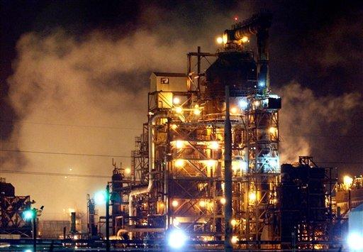 Cronología de explosiones en edificios industriales en USA