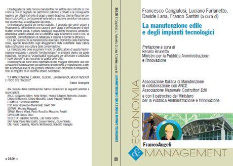 """Libro: """"La manutenzione edile e degli impianti tecnologici"""""""